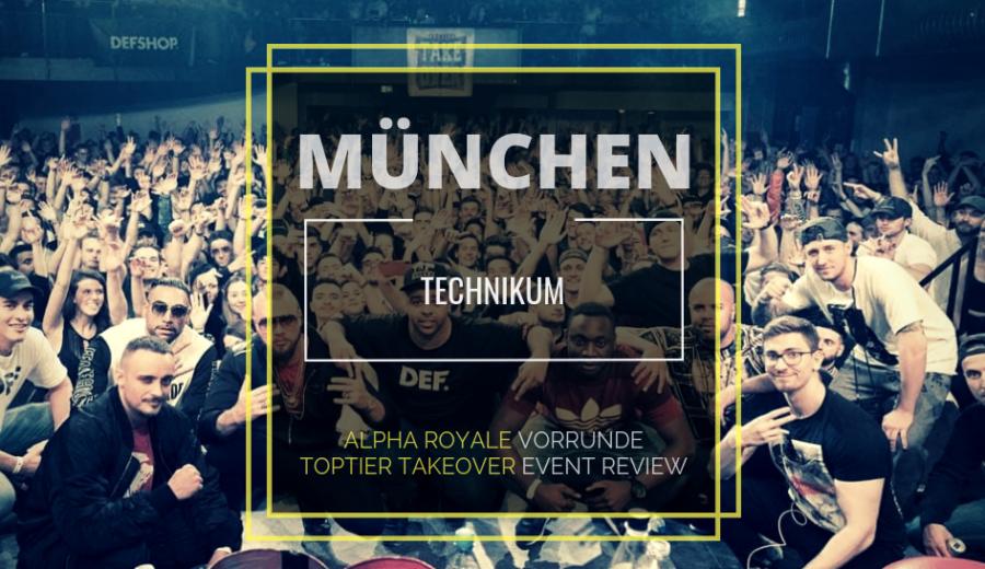 ttt alpha 1 münchen kollegah turnier battlerap